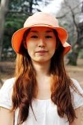 フレアーハット(orange)01