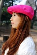 ハンチング(pink)03